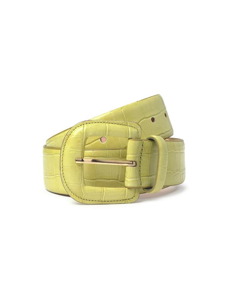 Lime Leather Belt - Paloma Wool