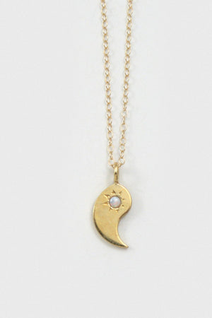 Yin and Yang BFF Necklace Set
