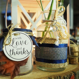 Fall Wedding Favors Jar