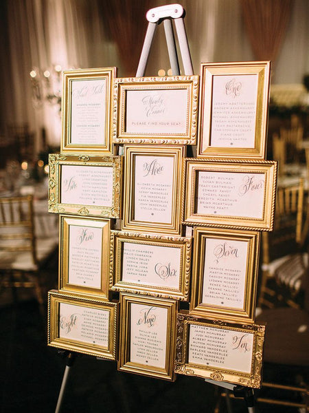 20 Fun And Creative Seating Chart Ideas For Your Wedding Forever Wedding Favors