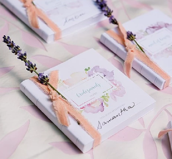 30 Purple Wedding Welcome Bags for guests with satin ribbon handles and custom names Mr and Mrs Welcome Bags for Weddings Gifts and Favors