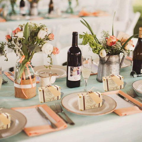 Suitcase Wedding Favor