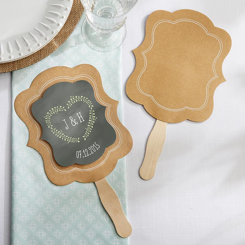 Kraft Hand Fan (Set of 12)