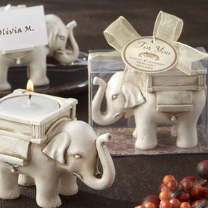 Lucky Elephant Tea Light Holder