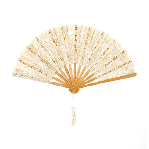 Timeless Hand Fan Wedding Favor