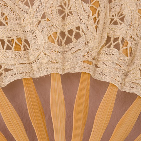 Timeless Lace Fan