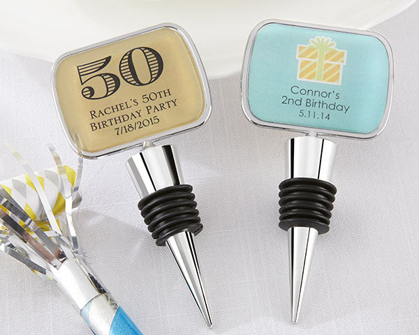 Personalized Bottle Stopper - Multiple Options