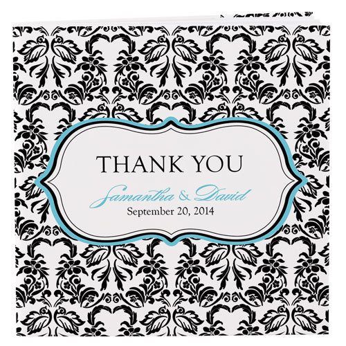Notepad wedding favor