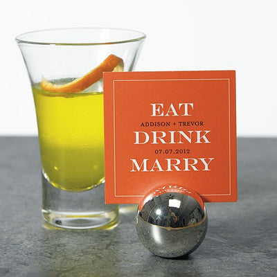 Eat, Drink, Marry
