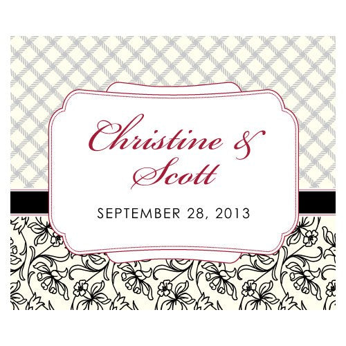 Eclectic Patterns Rectangular Label