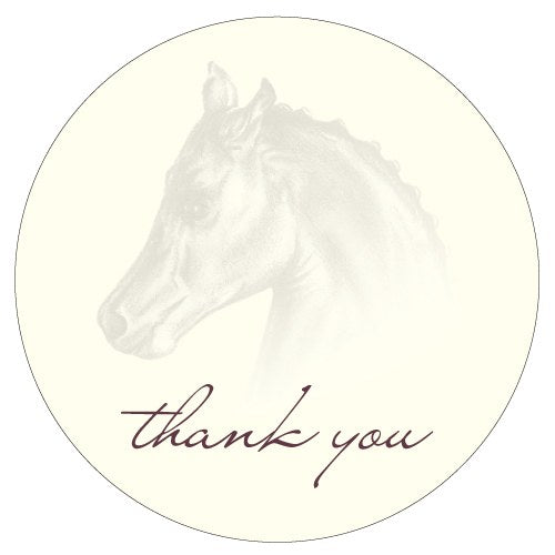 Equestrian Love Large Sticker