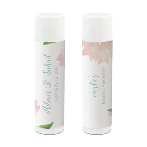Personalized Wedding Favor Lip Balm