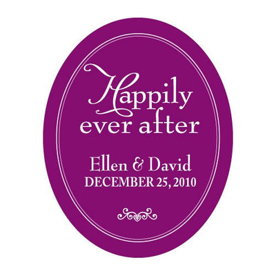 Happily Ever After Frame Sticker