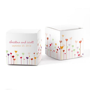 Hearts Cube Favor Box