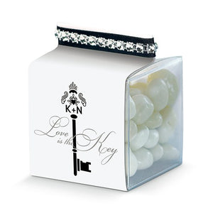 Key Monogram Favor Box