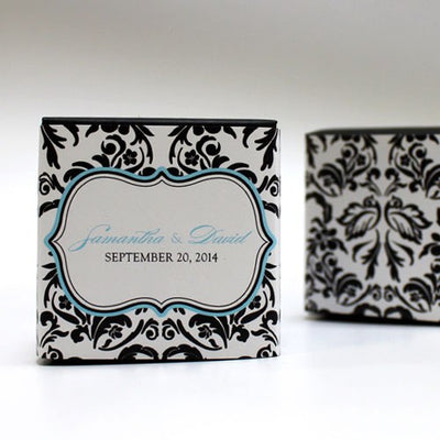 Love Bird Damask Cube - Wrap