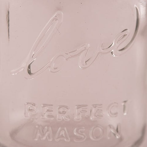 Pure Love Mason Jar
