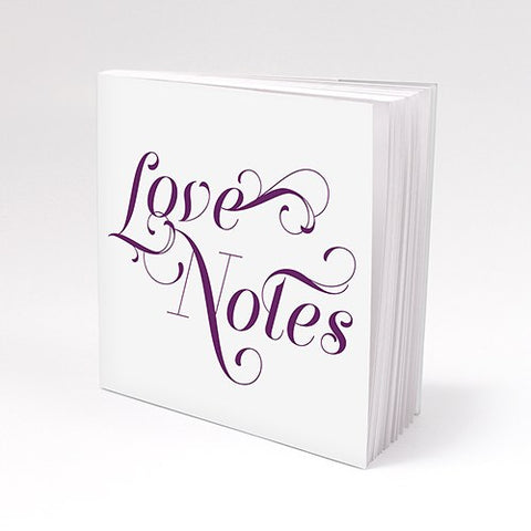 Letters of Love Notepad