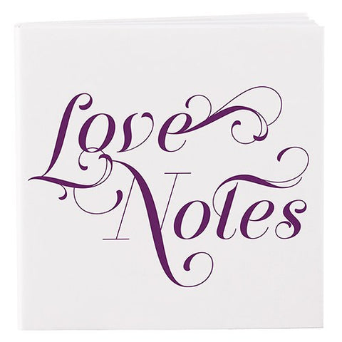 Cure wedding favor notepad