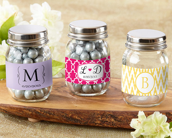 Mini Glass Mason Jar