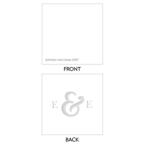 Monogram Simplicity Simple Ampersand Tag