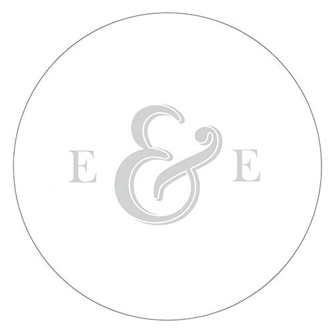Monogram Simplicity Small Sticker - Simple Ampersand