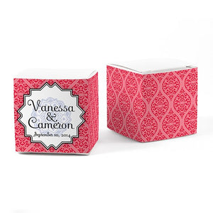 Moroccan Cube Favor Box - Wrap