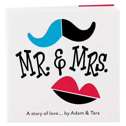 Mr. & Mrs. Wedding Favor Note Pad