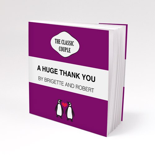 Penguin Couple Notepad