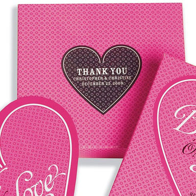 Playing Card Heart Shaped Stickers