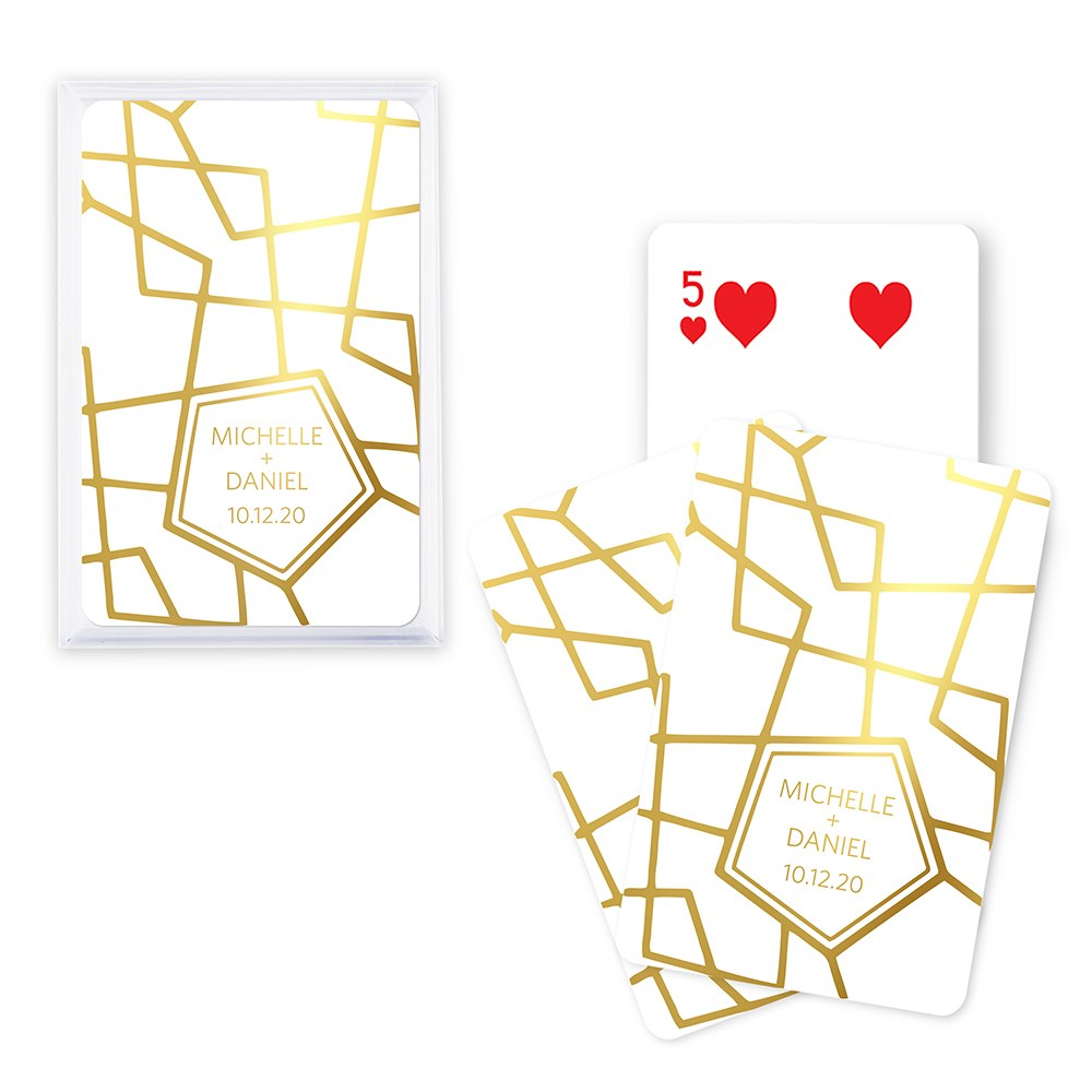 Retro Luxe - Foil Playing Cards