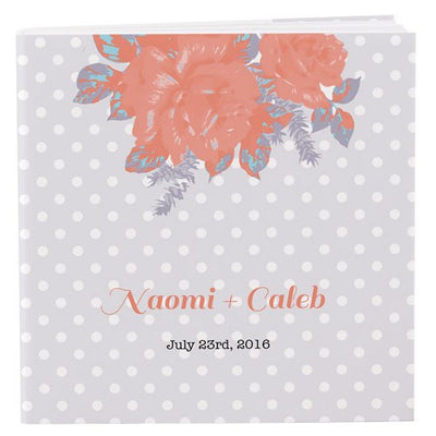 Rose Personalized Book Style Notepad
