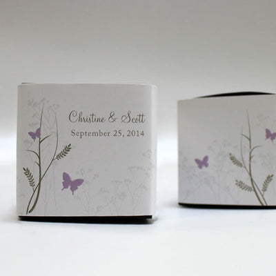 Romantic Butterfly Cube