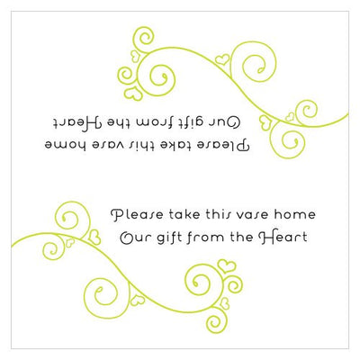 Small Wedding Inscription
