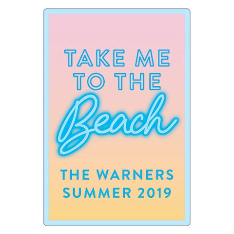 Summer Vibes Diecut Sticker