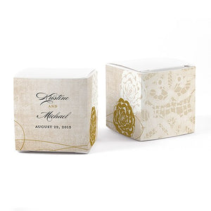 Vintage Lace Favor Box