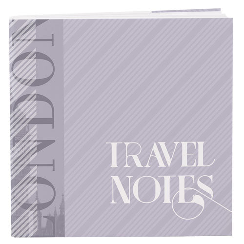 Vintage Travel Cover Notepad