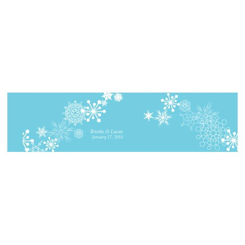 Winter Finery Cube Favor