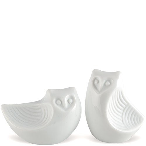 Wisdom Owl Salt And Pepper Shakers