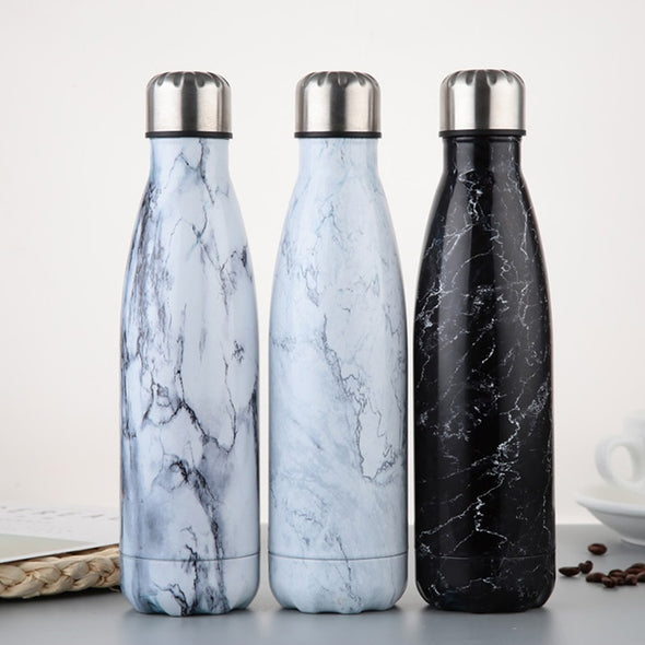 Stainless Steel Marble Thermos