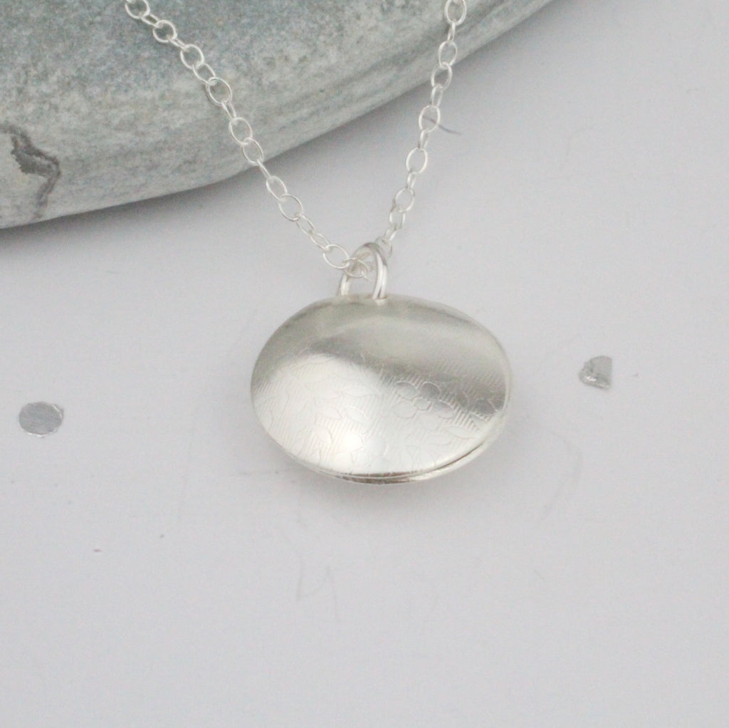 Sterling Silver Personalised Secret Locket