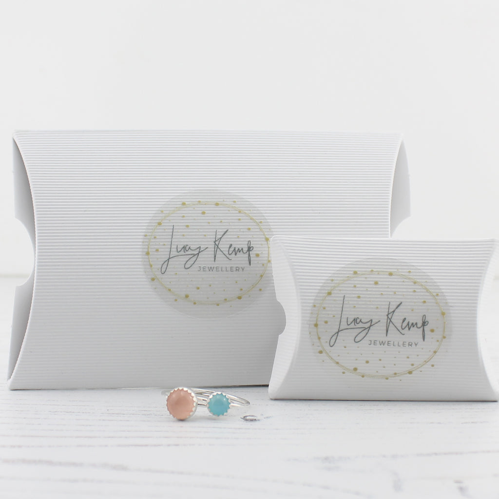 Lucy Kemp Jewellery hand made in Cornwall Packaging