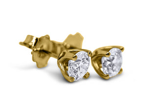 Diamond Stud Earrings - Sydney Rosen