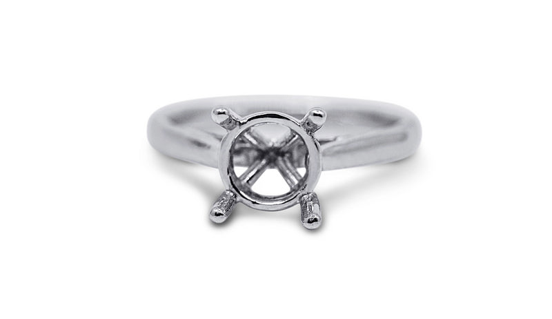 Cathedral Solitaire Engagement Ring Setting - Sydney Rosen