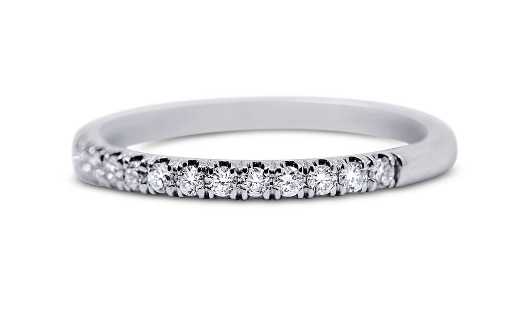 Pave Diamond Wedding Ring - Sydney Rosen