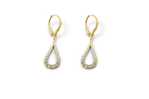 Tear Drop Diamond Earrings - Sydney Rosen