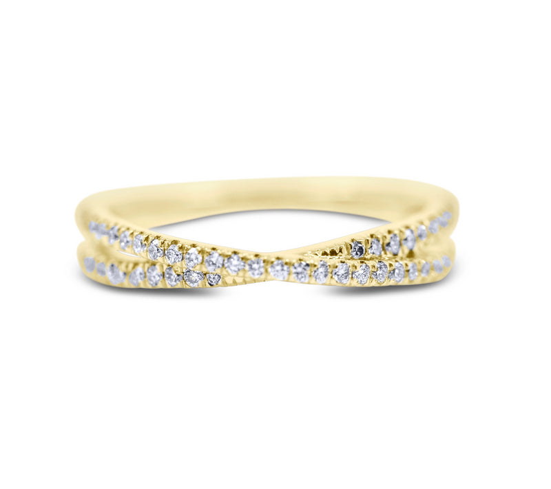 Diamond Stack Ring - Crossover