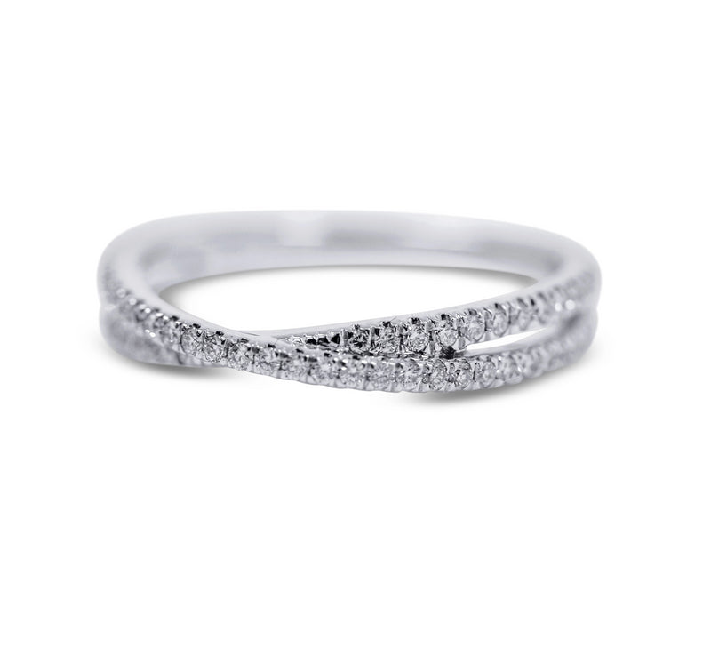 Diamond Stack Ring - Crossover - Sydney Rosen