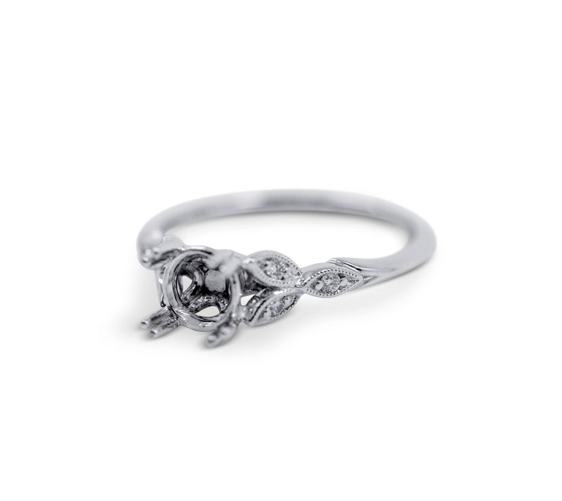 Floral Engagement Ring Setting