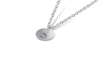 Initial Disc Necklace - Sydney Rosen